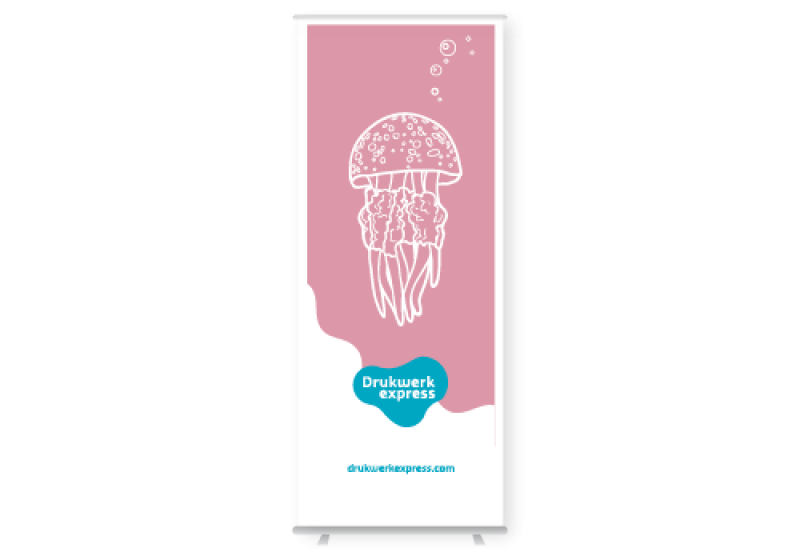 Roll up banner - outdoor
